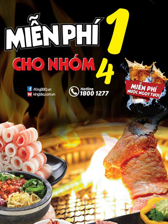 Cool King Bbq Mien Phi 1 Suat Buffet Cho Nhom 4 Nguoi Beutiful Home Inspiration Xortanetmahrainfo