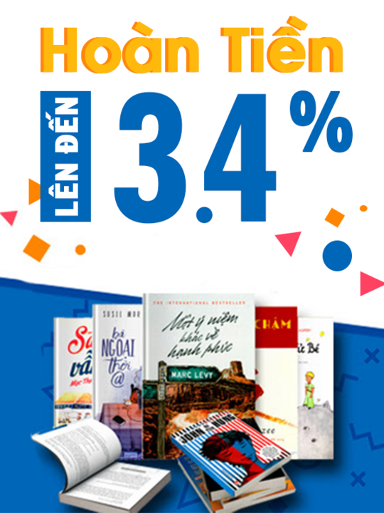 FAHASA hoàn tiền lên đến 3.4% khi mua sách