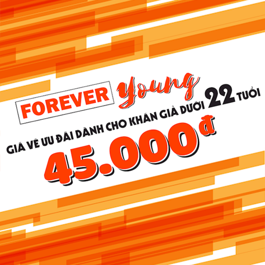 Mega GS Cinemas đồng giá 45k/vé 2D cho khách hàng U22