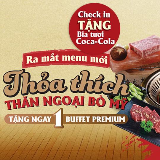 Sumo BBQ đi 4 tặng 1 tại Hà Nội