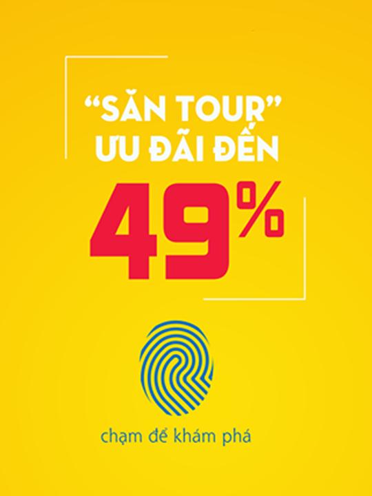 Vietravel ưu đãi tour du lịch đến 49% tối đa 2tr4