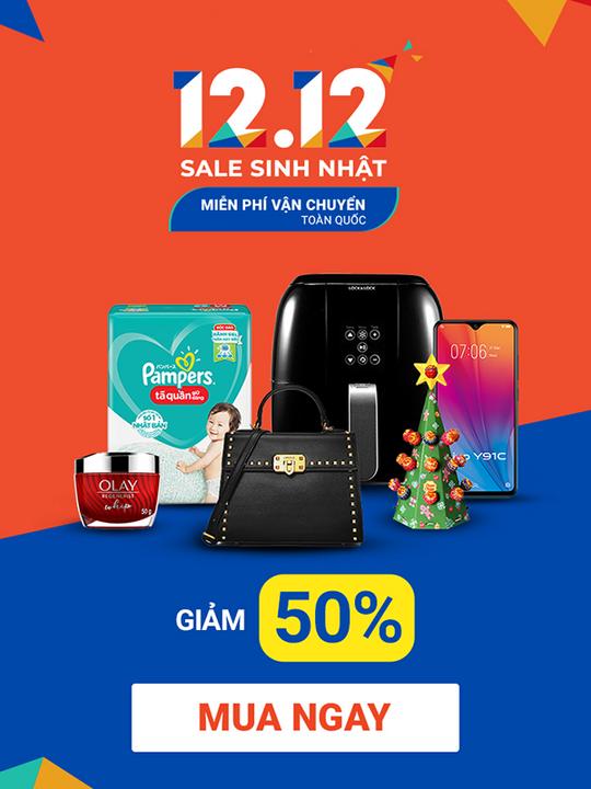 Shopee birthday Sale - Giảm tung nốc đến 50%