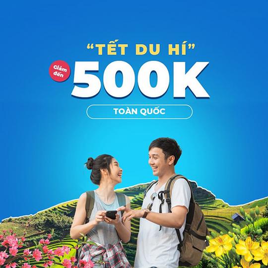 Mytour giảm 20% đến 500k khi đặt phòng khách sạn