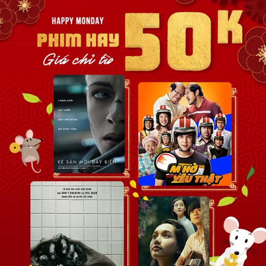 BHD Star Cineplex vé phim chỉ từ 50k vào thứ 2