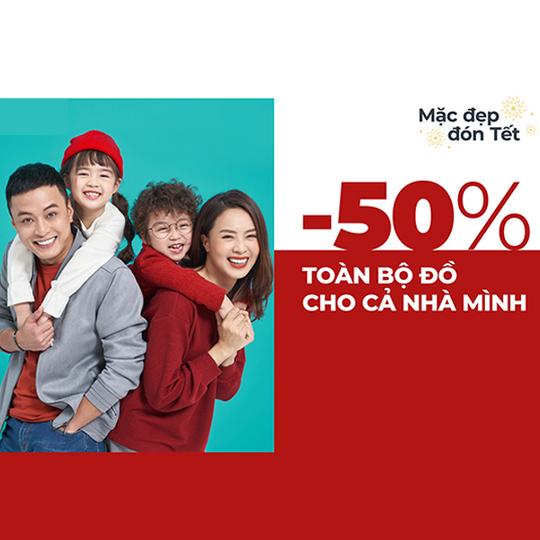 Canifa giảm giá 50% toàn bộ sản phẩm