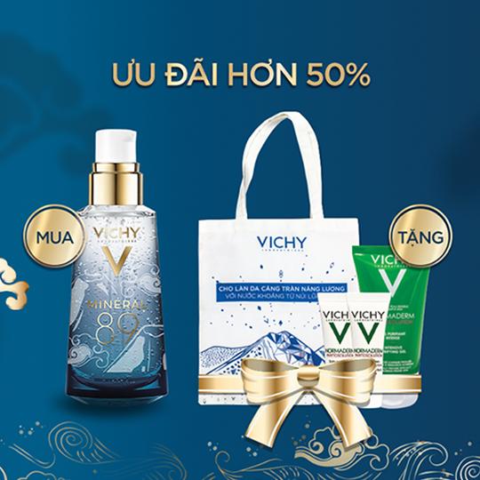 Vichy khuyến mãi hơn 50% nhiều sản phẩm