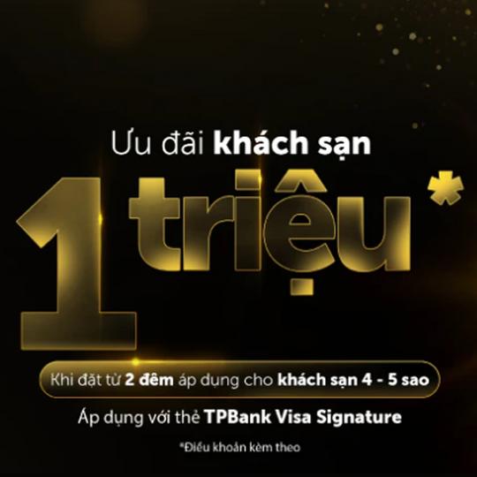 Traveloka giảm 1.000k khi đặt KS cho chủ thẻ TPBank