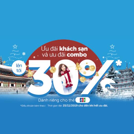 Traveloka giảm đến 30% cho chủ thẻ JCB
