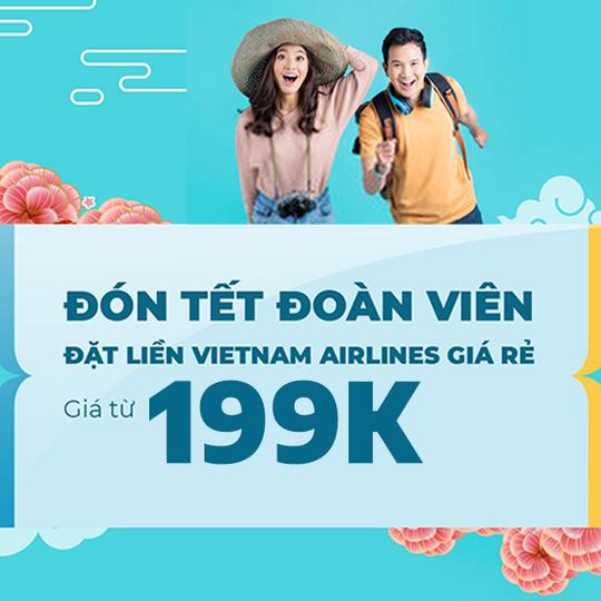 Vietnam Airlines vé bay nội địa chỉ từ 199k