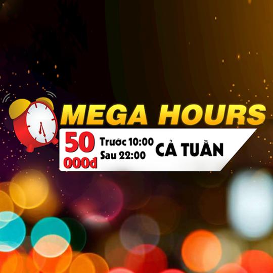 Mega GS Cinemas đồng giá 50k khung giờ vàng