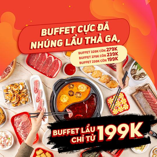 Hotpot Story khuyến mãi buffet chỉ từ 199k tại Hà Nội