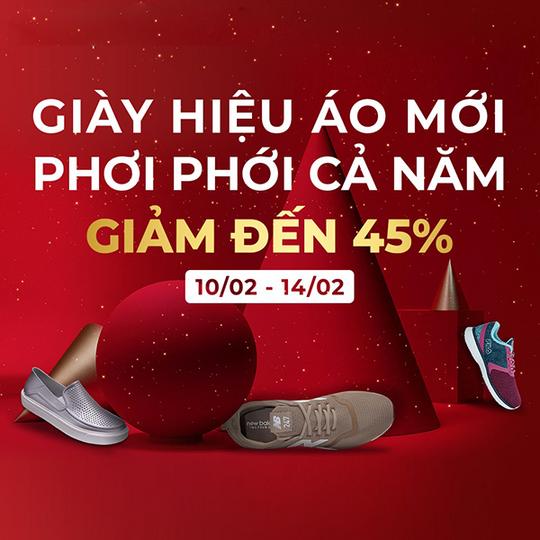 Supersports Vietnam giảm đến 45% một số thương hiệu