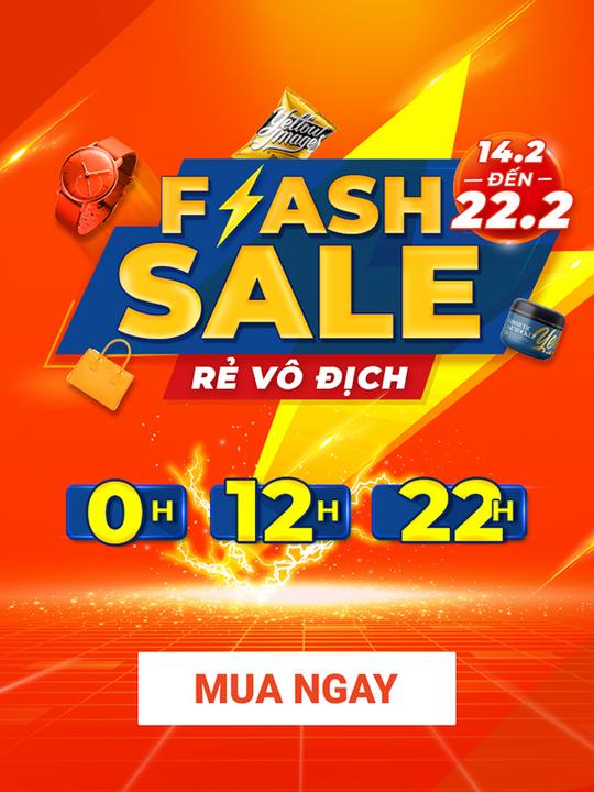 Shopee flash Sale rẻ vô địch, deal sốc chỉ từ 1k