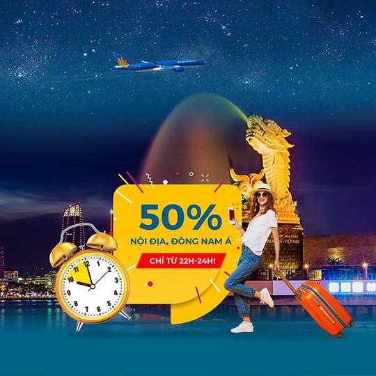 Vietnam Airlines giảm 50% vé nội địa, Đông Nam Á
