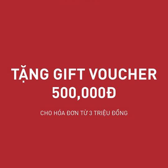 Puma tặng gift voucher 500k cho ĐH từ 3tr
