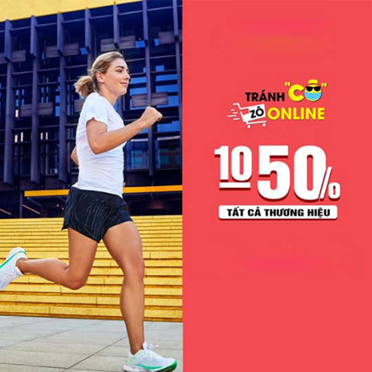MaxxSport giảm 10% - 50% tất cả thương hiệu