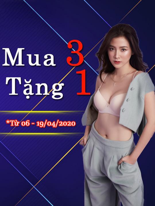 Sabina Vietnam khuyến mãi mua 3 tặng 1 khi mua online