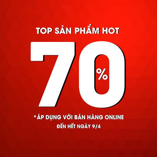 NEM Fashion giảm 70% toàn bộ sản phẩm Hot
