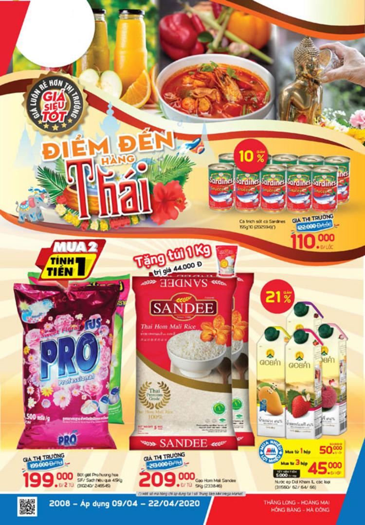 MM Mega Market cẩm nang Điểm đến hàng Thái