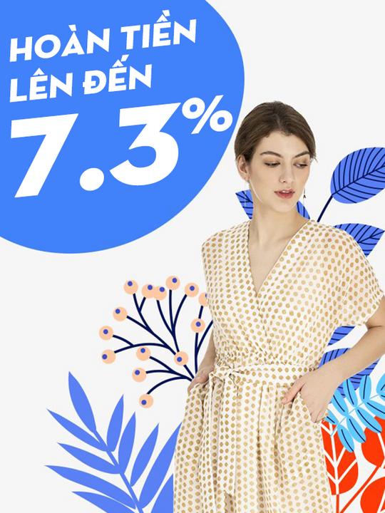 MARC hoàn tiền đến 7.3% khi mua sắm