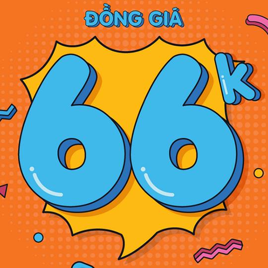92WEAR khuyến mãi đồng giá 66K mừng sinh nhật