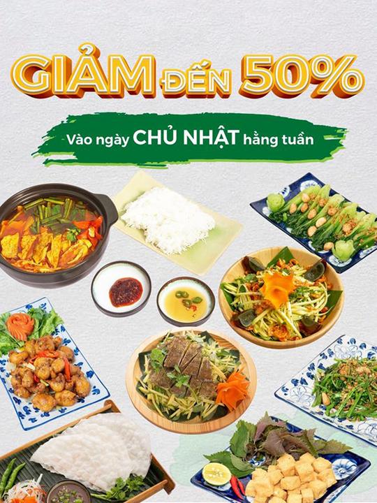 An Nam Quán khuyến mãi đến 50% các món ăn
