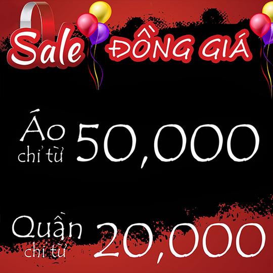 Sabina Vietnam khuyến mãi đồng giá từ 20k