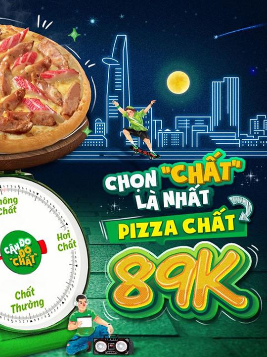 The Pizza Company khuyến mãi pizza chỉ từ 89k