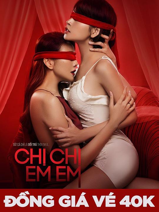 Lotte Cinema đồng giá 40k phim Chị Chị Em Em
