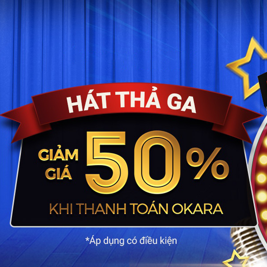 AirPay giảm 50% tối đa 30k khi thanh toán Okara