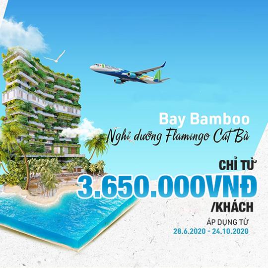 Bamboo Airways khuyến mãi vé bay & khách sạn chỉ từ 3650k