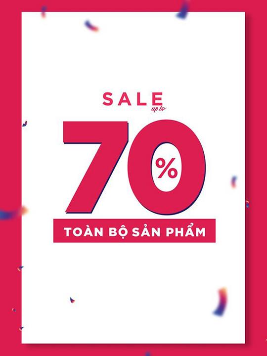 92WEAR giảm đến 70% toàn bộ sản phẩm