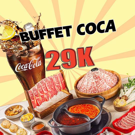 Hotpot Story refill coca không giới hạn chỉ 29k