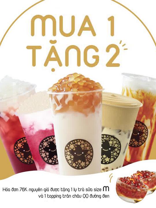 Tocotoco tặng trà sữa + topping với HĐ từ 76k