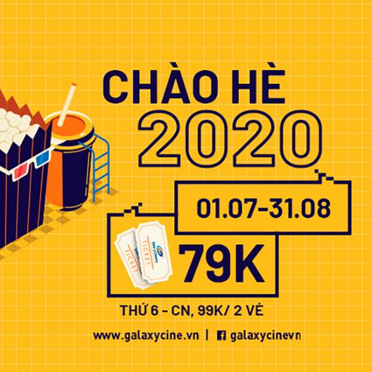 Galaxy Cinema khuyến mãi 2 vé phim từ 79k