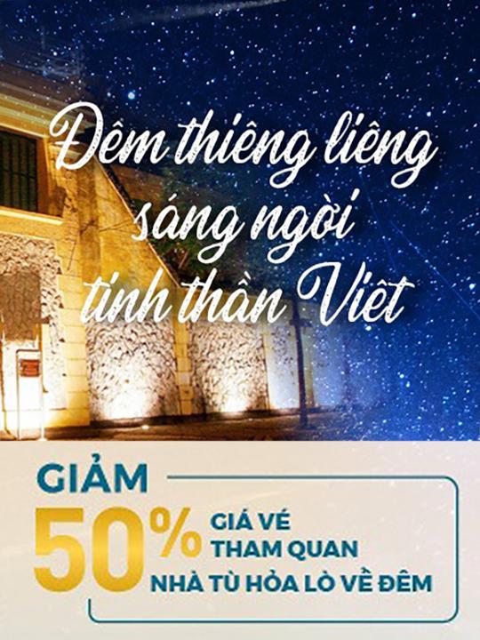 Vietnam Airlines giảm 50% giá vé tham quan Nhà tù Hỏa Lò