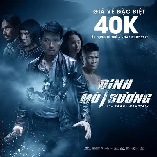 Lotte Cinema đồng giá 40K phim Đỉnh Mù Sương