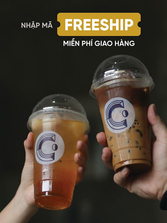 Cheese Coffee miễn phí ship qua GrabFood