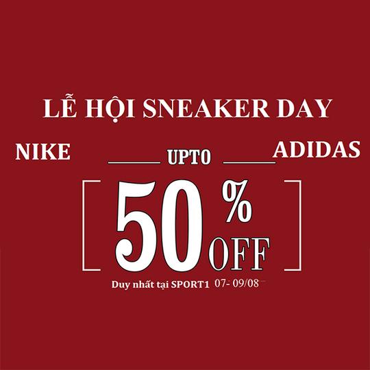 Siêu thị thể thao Sport 1 giảm đến 50% SP Nike, Adidas
