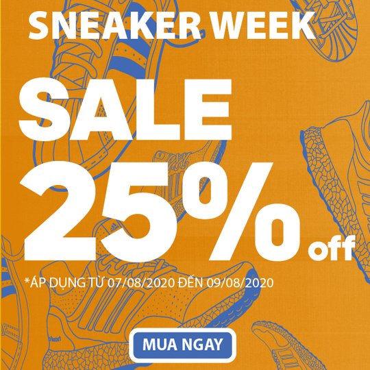 Shooz Vietnam giảm đến 25% giày Adidas