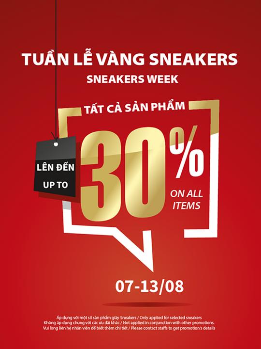 Shooz Vietnam giảm đến 30% nhiều sản phẩm giày