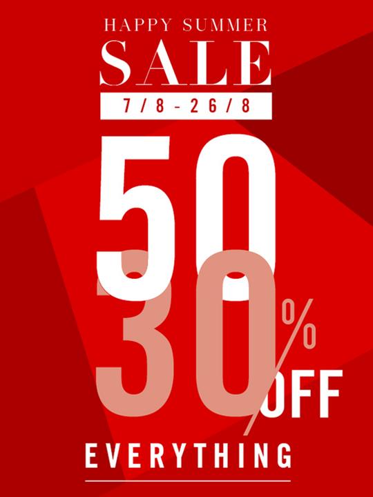 Hoàng Phúc giảm 30% - 50% nhiều sản phẩm