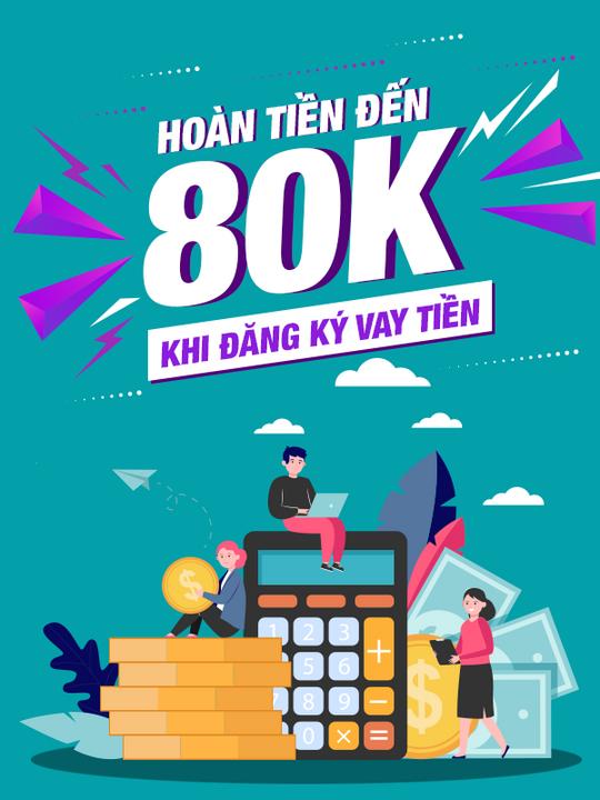 Hong Leong Bank hoàn tiền 80k khi đăng ký vay tiền