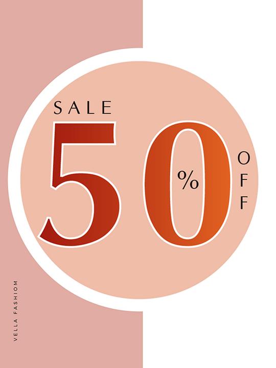 Vella Fashion khuyến mãi 50% nhiều sản phẩm