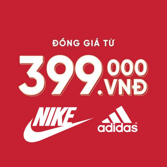 Siêu thị thể thao Sport 1 khuyến mãi đồng giá từ 399K