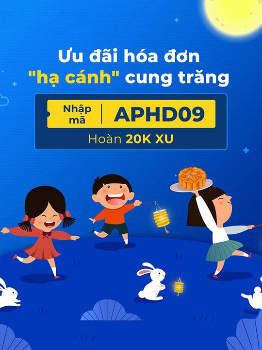 AirPay hoàn 5% tối đa 20K xu khi thanh toán HĐ