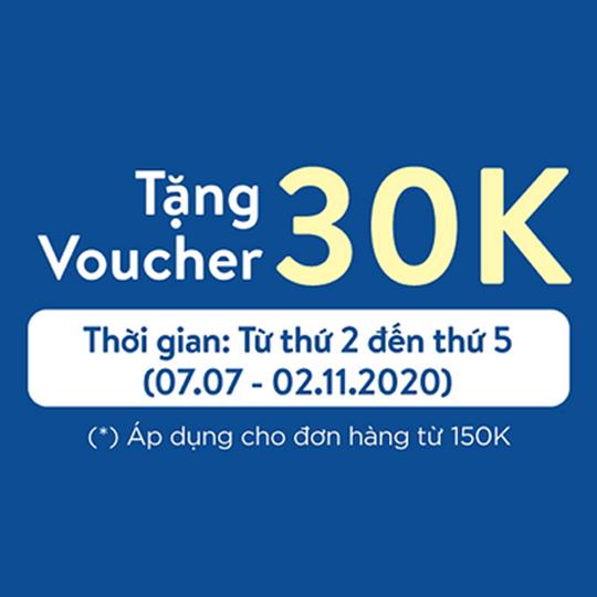 Tiki giảm 30k cho chủ thẻ Visa Sacombank