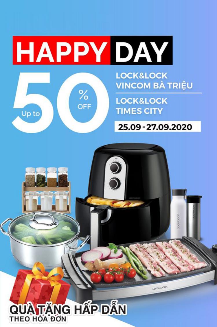 LOCK&LOCK cẩm nang Happy Day