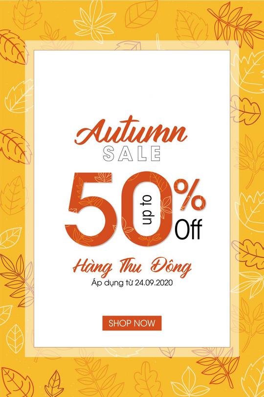 Sohee Fashion  khuyến mãi đến 50% nhiều sản phẩm