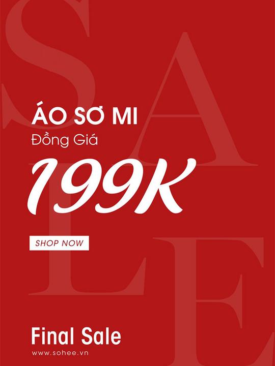 Sohee Fashion  đồng giá sơ mi chỉ 199k